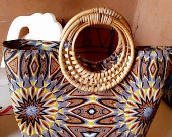 African prints Handbag