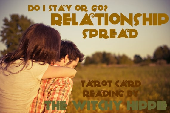 To stay or go in a relationship