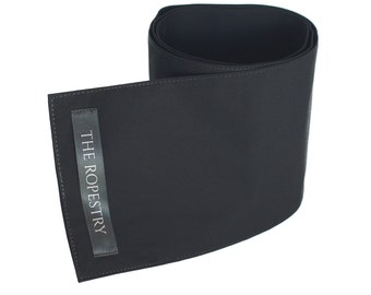 Black cotton blindfold, three-ply, with excellent grip