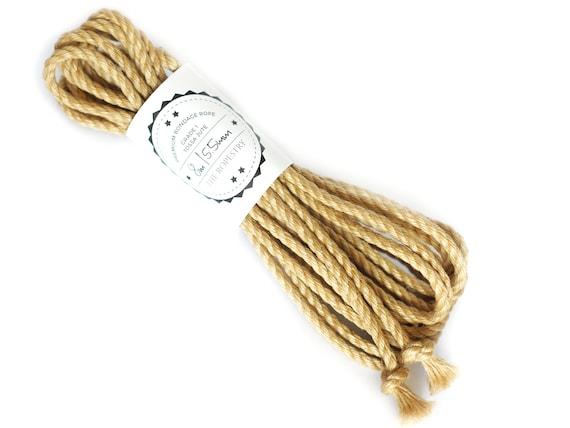 Custom-made mount Large rope 30 mm jute diameter suspension