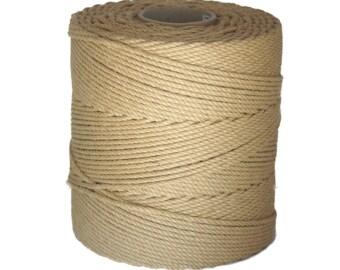 AMATSUNAWA 30 - 500m/1.640ft raw jute rope, ∅ 5.5mm/0.22inch, untreated, JBO free, wholesale quantity