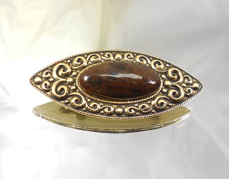 1960s vintage brooches of the USSR brown brooch jewelry elongated brooch jewelry retro brooch art nouveau brooches deco vintage ornaments