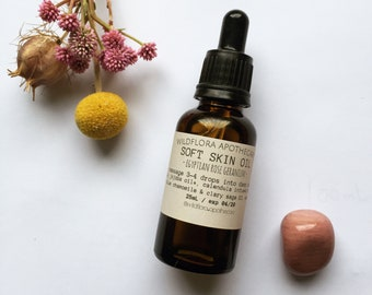FACIAL SERUM - Soft Skin Oil (Rosehip oil blend)