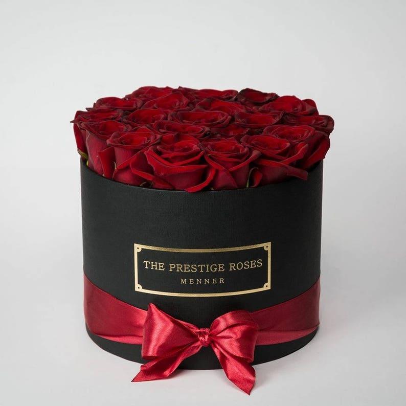 5a6a3fc0b5628 Coleccion Rosas Preservadas Caja Medio The Prestige Roses