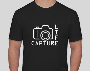 Capture Life with Camera T-shirt