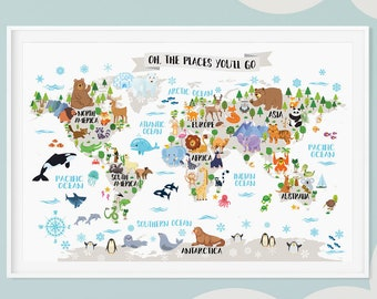 Athas World Map.Wall Map Etsy