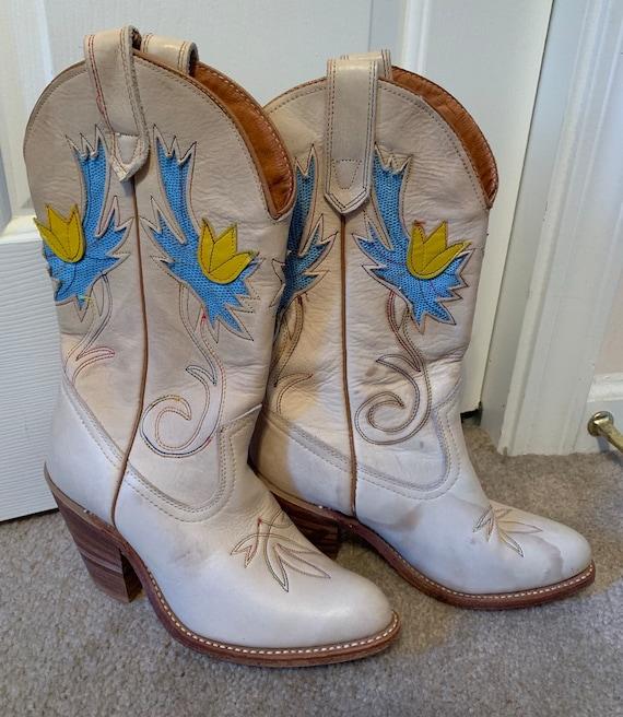 Miss Capezio Vintage Cowboy Boots