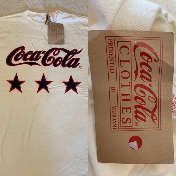 Vintage 1980s Coca-Cola Shirt Presented by Murjani