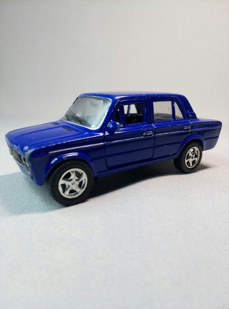 Model Of A Vintage Car Lada 2106 Ussr Etsy