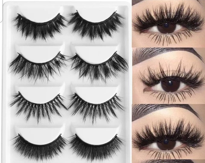 5 Different 3d Mink Eyelashes
