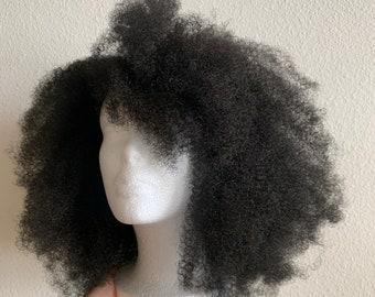 AFRO KINKY Crochet Wig