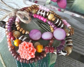 Bungalow Life-bracelet set