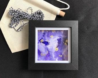 Precious Polly - Framed Mini Ink Art