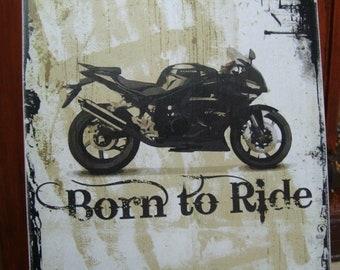 Motorfiets Tekenen Etsy
