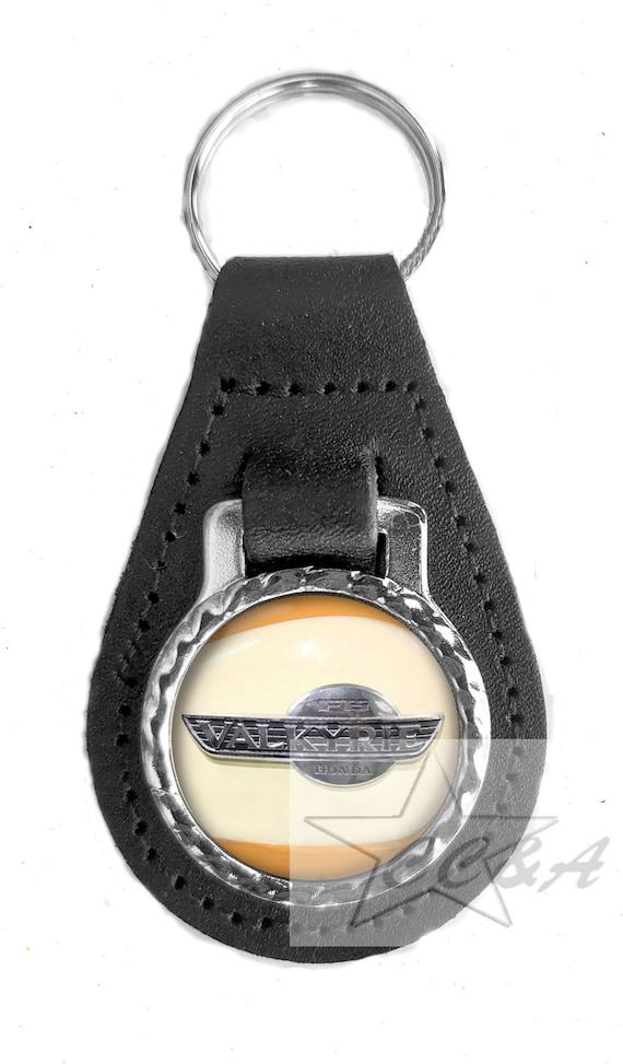 KAWASAKI H2 750 GOLD  Motorrad Schlüsselring Leder