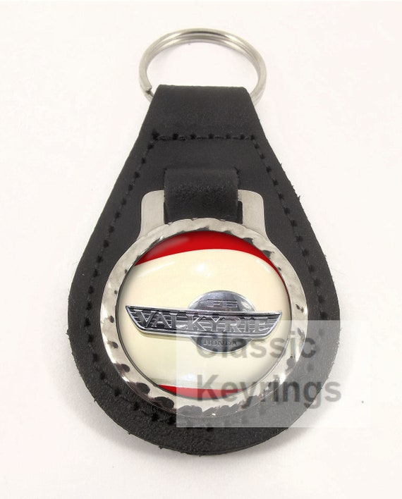 HONDA CB750 FOUR red real leather  keyring keychain