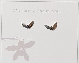 I'm Batty About You Stud Earrings