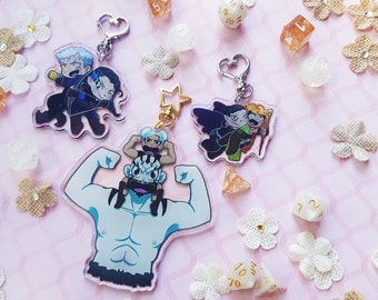 Vox Machina (Critical Role) Pair Charms