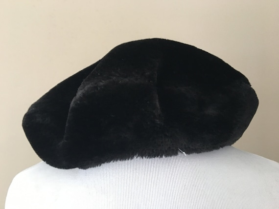 Tam Beret Hat Black - image 1