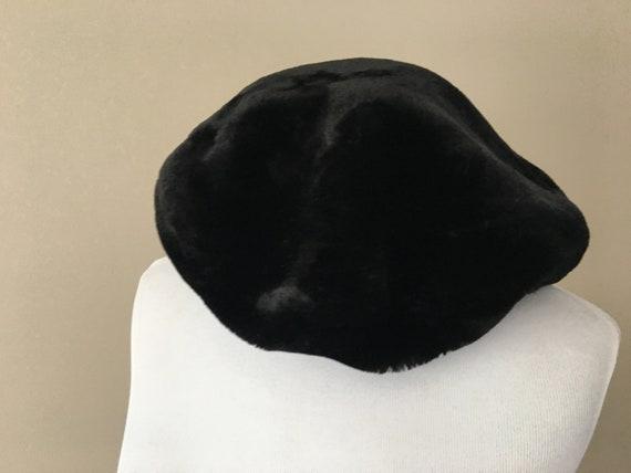 Tam Beret Hat Black - image 3