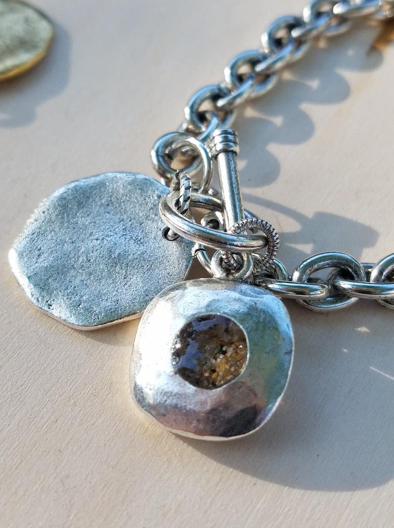 Custom Sand Charm Bracelet