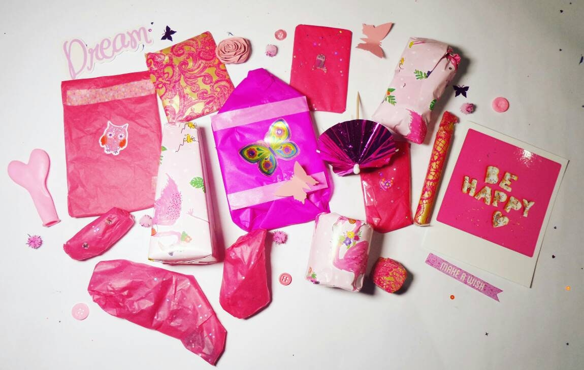 Small Pink Mystery Box Surprise Box Gift for Her Gift   Etsy