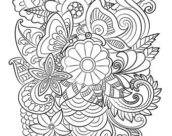 Mindfulness Mandalas Book 1. A Colouring Book For Adults.