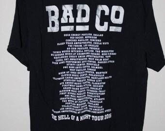 Bad Company 2016 Tour Shirt