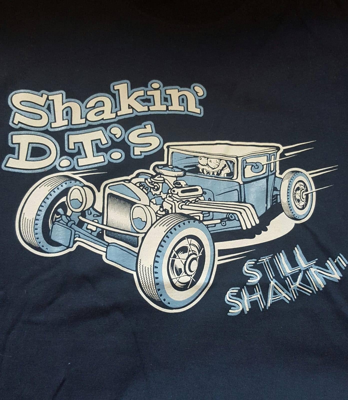 shakin/' dt/'s mens t-shirt m,l,xl,xxl