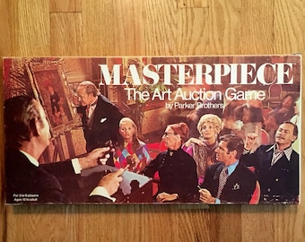 Vintage Masterpiece Boardgame from 1970