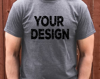 Download Free mock up gray tshirt, gray T-shirt, your design here, mock-up, male mockup, recommended by shorts and lemons for svg files, jpeg digital PSD Template