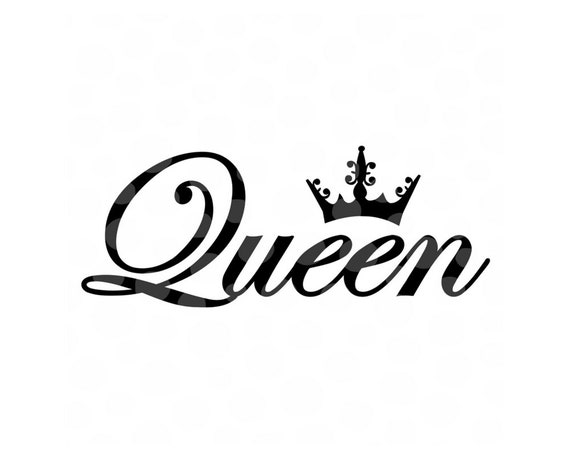 Her King Svg His Queen Svg King And Queen Svg Svg Design: Queen Crown Svg Tiara Svg Woman Cut File Queen Cut File