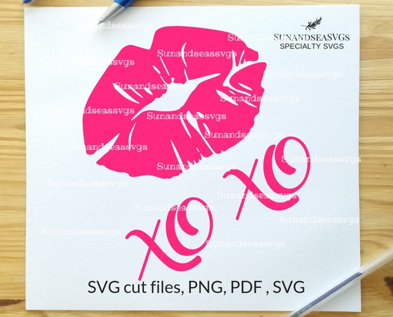 Lips Svg Kissing Lips Svg Filexoxo Svg Love Svg Wedding Etsy
