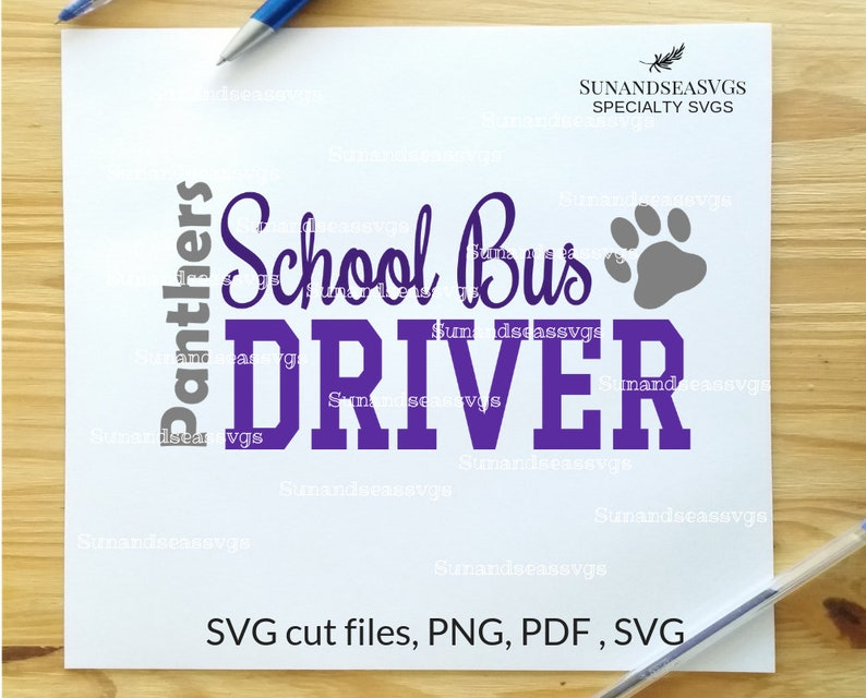 233113b6a School bus driver svg file school bus bus driver cut file   Etsy