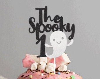 The Spooky One Cake Topper | Halloween Cake Topper | Cake Topper | Spooky First Birthday Cake Topper | Happy 1st Birthday Cake Topper