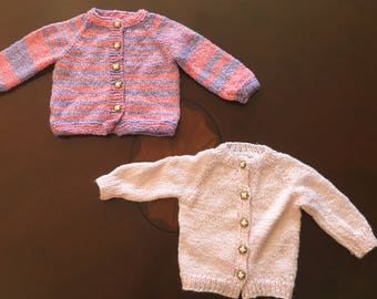 Hand-made Baby Sweaters
