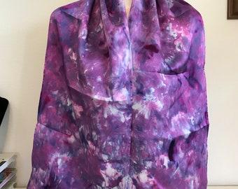 Lilacs Silk Charmeuse