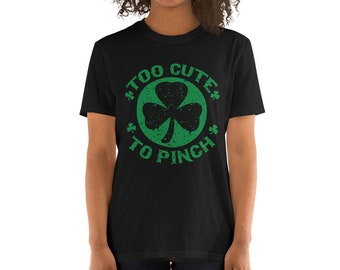 97301f9f0 Funny, Naughty, cheeky, St. Patricks Day Mens and Women's Adults  Short-Sleeve Short-Sleeve Unisex T-Shirt