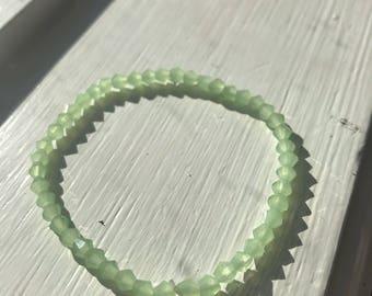 Foam green bracelet