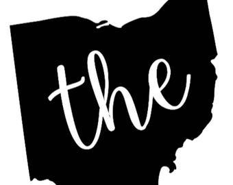 The Ohio Vinyl Decal
