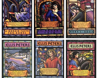 Mystery book series etsy ellis peters brother cadfael mystery series mmpb very good condition use coupon code discount20 for 20 off any 2 or more books fandeluxe Images