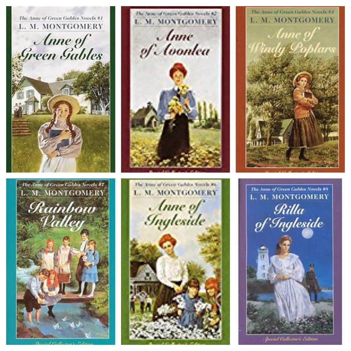 L. M. Montgomery  Anne 0f Green Gables Series image 0