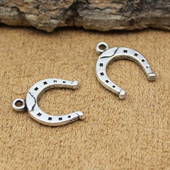 BULK 50 Cat pendants antique silver tone A872