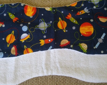 2 pack Space Burp Cloths