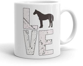 Horse lovers mug love horses horse owner horse mug funny horse mug horse coffee mug horse lover gift horse riding girl horse gifts horse