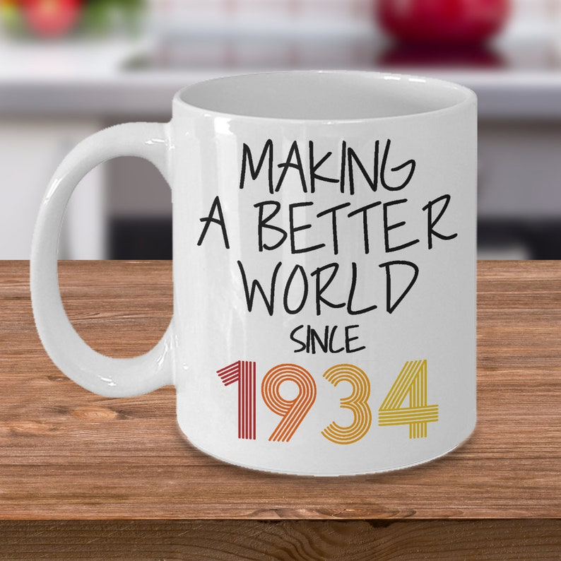1934 Birthday Gift For Grandma 85th Mug