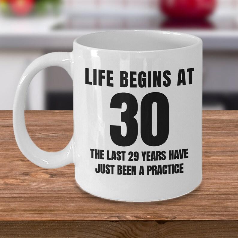 Funny 30th Birthday 30 Years Old Mug Gift For Sister