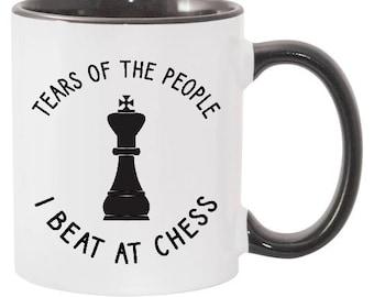 Chess Gift Chess Mug Chess Gifts for Women Chess Gifts for Men Chess Coach Gift Chess Master Gift Chess Player Coffee Mug 20J71
