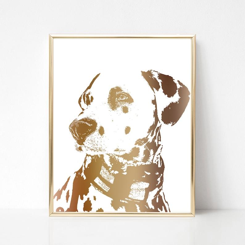 ed4bfec3a98d Custom pet portrait Animal portrait print Custom pet print | Etsy