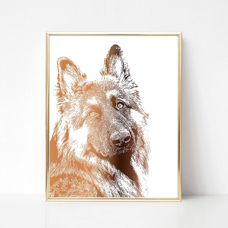 b857442e0f7d Custom pet print Animal portrait print Custom painting of | Etsy